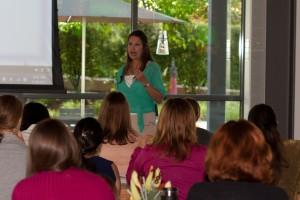 JJ's women's speaker event 2012-12