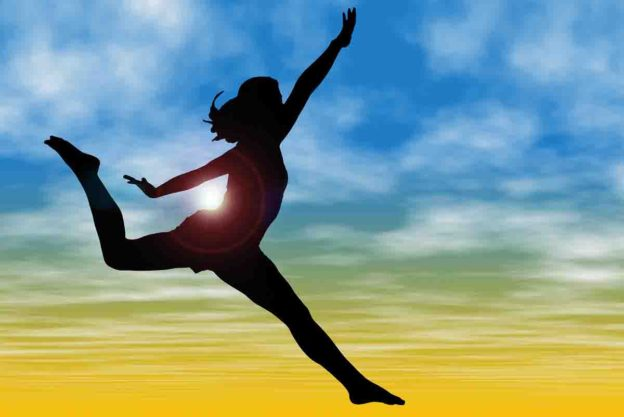 career moves, woman leaping, before you leap